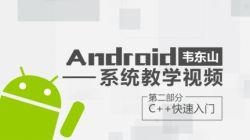 第2部分-c++快速入门-韦东山 Android系统教学视频