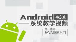 第1部分-Java快速入门-韦东山 Android系统教学视频